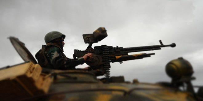 وحدات من الجيش العربي السوري تعيد الأمن والاستقرار إلى 19 قرية وبلدة بريف حلب الشرقي وتستعيد السيطرة على محطتي المياه المغذيتين لمدينة حلب