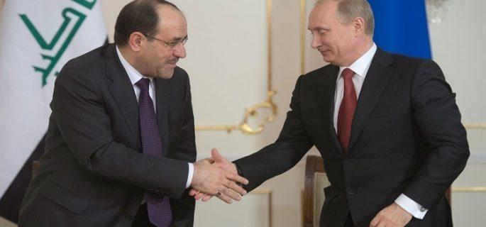 المالكي يصل موسكو ويؤكد : لولا الموقف الروسي لدمّرت المنطقة برمتها