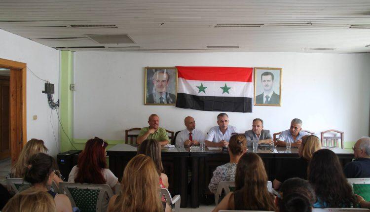 افتتاح دورة التدريب في فنون التحرير الإعلامي لصحفيي اللاذقية