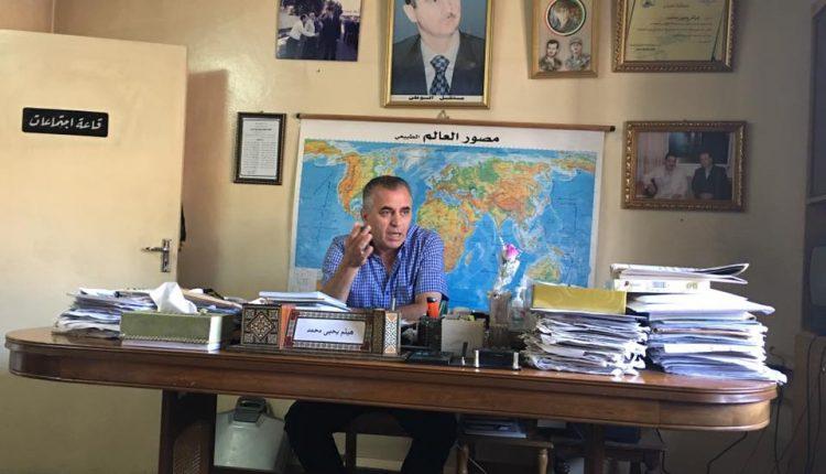رئيس اتحاد الصحفيين في فرع طرطوس لاتحاد الصحفيين