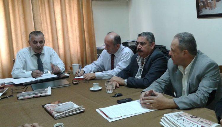 اجتماع المكتب التنفيذ لاتحاد الصحفيين