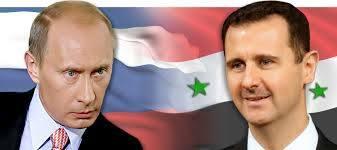 الرئيس الاسد يلتقي الرئيس الروسي
