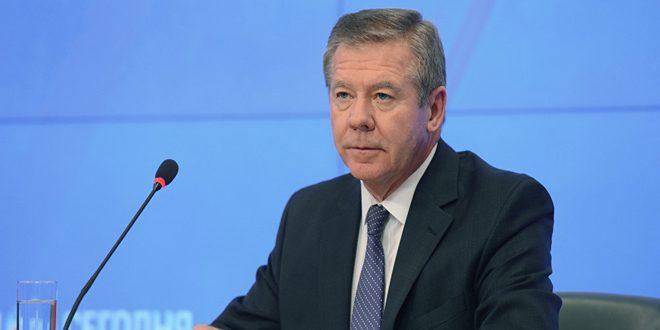غاتيلوف: المعارضة السورية لا تزال تصر على وضع شروط مسبقة خلال محادثات جنيف