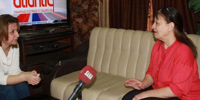 لقاء مع سيدة كانت محتجزة لدى التنظيمات الإرهابية في دوما