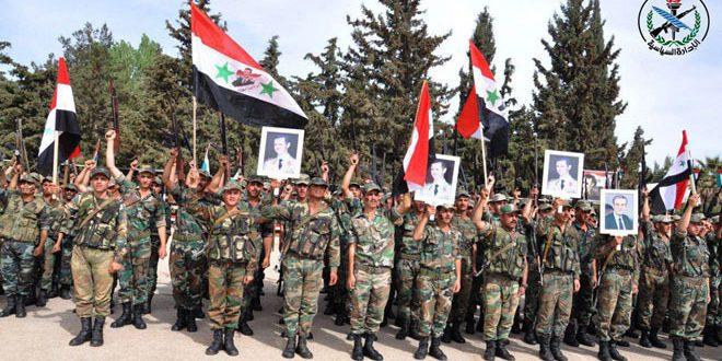 قواتنا المسلحة تحتفل بالذكرى الثانية والسبعين لعيد الجلاء-