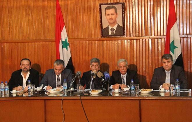 فرع دمشق لاتحاد الصحفيين يبحث سبل إيجاد مشاريع استثمارية لرفد ميزانية الاتحاد