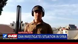 مراسل قناة ون أميركا نيوز نتوورك يفضح حقيقة حادث دوما في سوريا