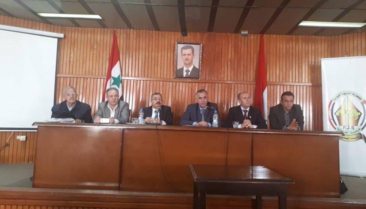 تم  بحضور رئيس اتحاد الصحفيين الزميل موسى عبد النور