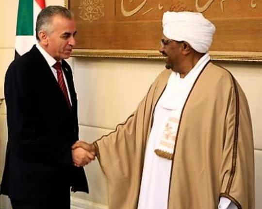 ضمن فعاليات اجتماع الفيدرالية الإفريقية المنعقد في العاصمة السودانية