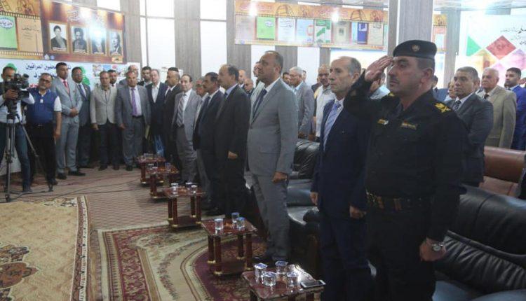 بحضور الوفد الصحفي السوري محافظ النجف يختتم فعاليات عيد الصحافة النجفية الـ 109