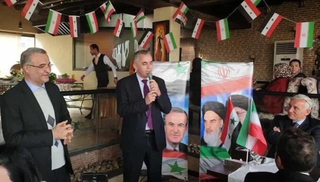 رئيس اتحاد الصحفيين موسى عبد النور،أكد ان مايجمع سورية وايران، امتزاج الدم