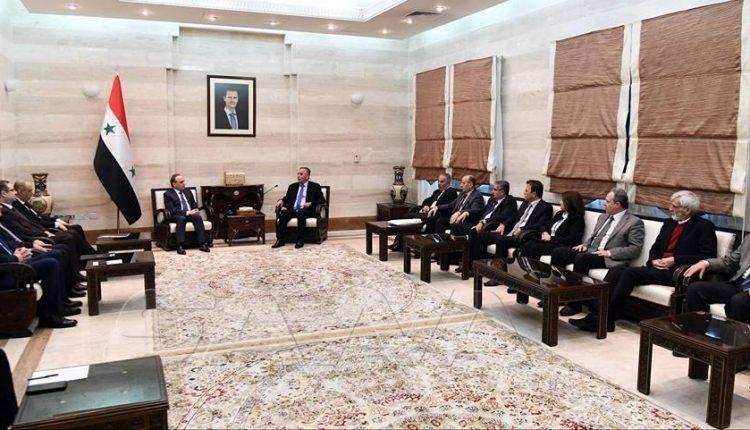 لقاء مثمر للمكتب التنفيذي لاتحاد الصحفيين مع رئيس مجلس الوزراء عماد خميس